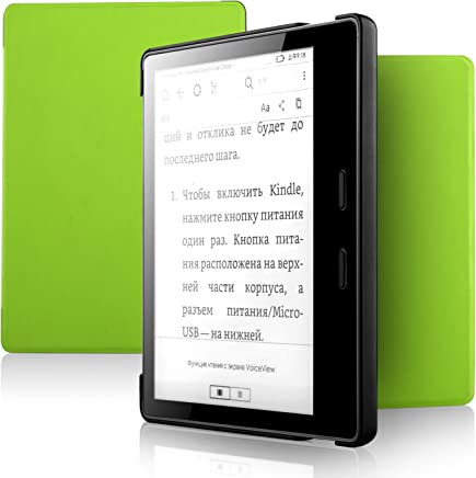 All-New Kindle Oasis Case - IVSO Slim Smart Cover Case for Amazon All-New Kindle Oasis 7 inch (9th Generation 2017 Release) (Green)