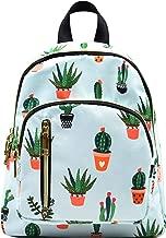 YANAIER Women Mini Backpack Purse Waterproof Nylon Fashion College Bag Daypack