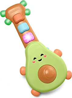 Skip Hop Baby Guitar Developmental Musical Toy, Farmstand Rock-A-Mole Guitar
