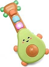 Skip Hop Baby Guitar Developmental Musical Toy, Farmstand Rock-A-Mole Guitar