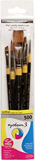 Daler-Rowney System 3 Brush Set of 5