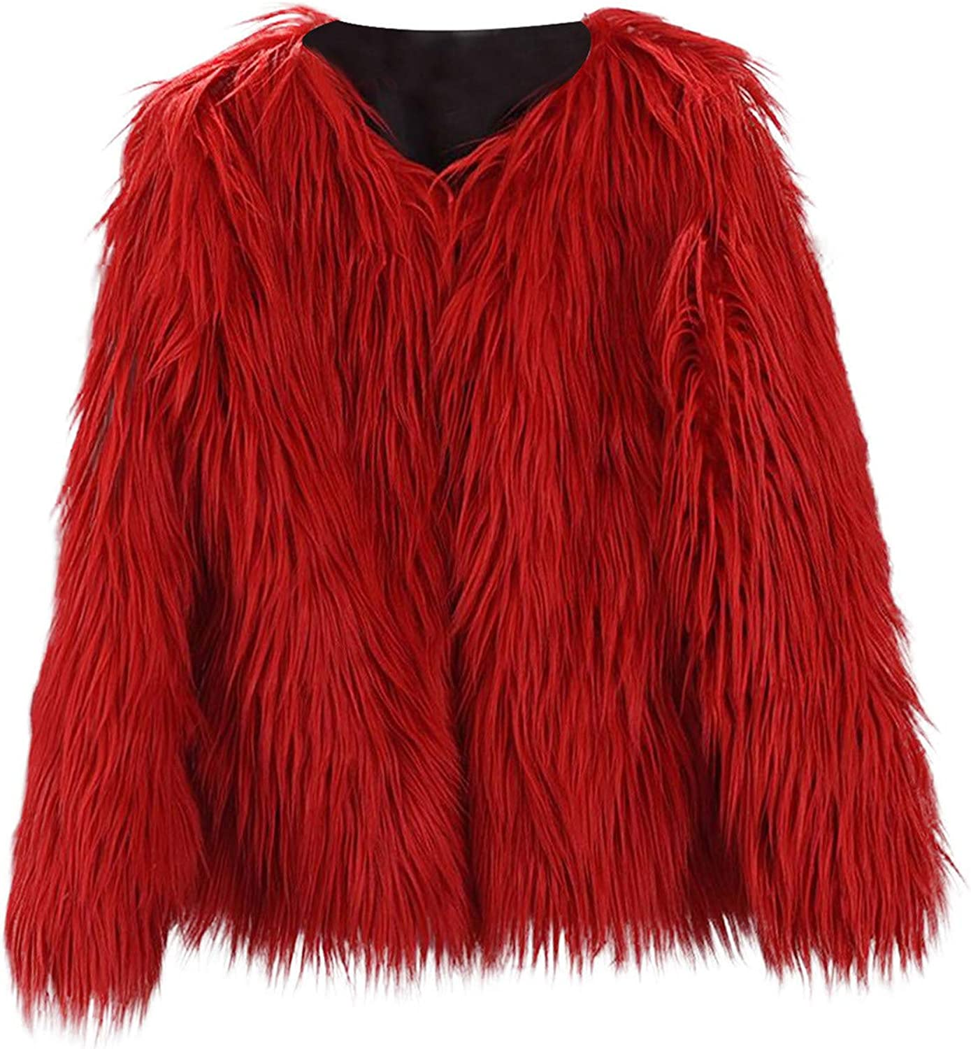 Toddler Baby Ranking TOP7 Kids Girl Fashion Fluffy Long Fur Miami Mall Faux Coat Sleeve