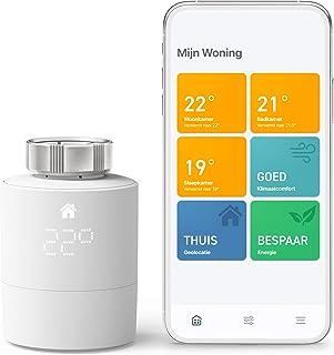 tado° Slimme Radiatorknoppen Starterskit V3+ – Intelligente verwarmingsaansturing, eenvoudige doe-het-zelf installatie, De...
