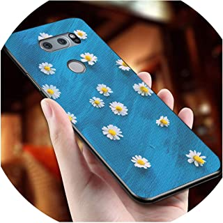 Flowers Phone Case for LG Optimus G4 G4C G5 G6 Cover Wrist Strap Hand Band Cases for LG Magna V20 V30 Bag Cover,No Strap,for LG G5