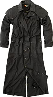 Australian Style Drover Wax Coat Oilware LongRider 3-in-1 in Brown with Extra Inner Lining