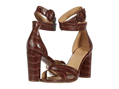 Naturalizer Rinna (Lodge Brown Croco Print Smooth) Women