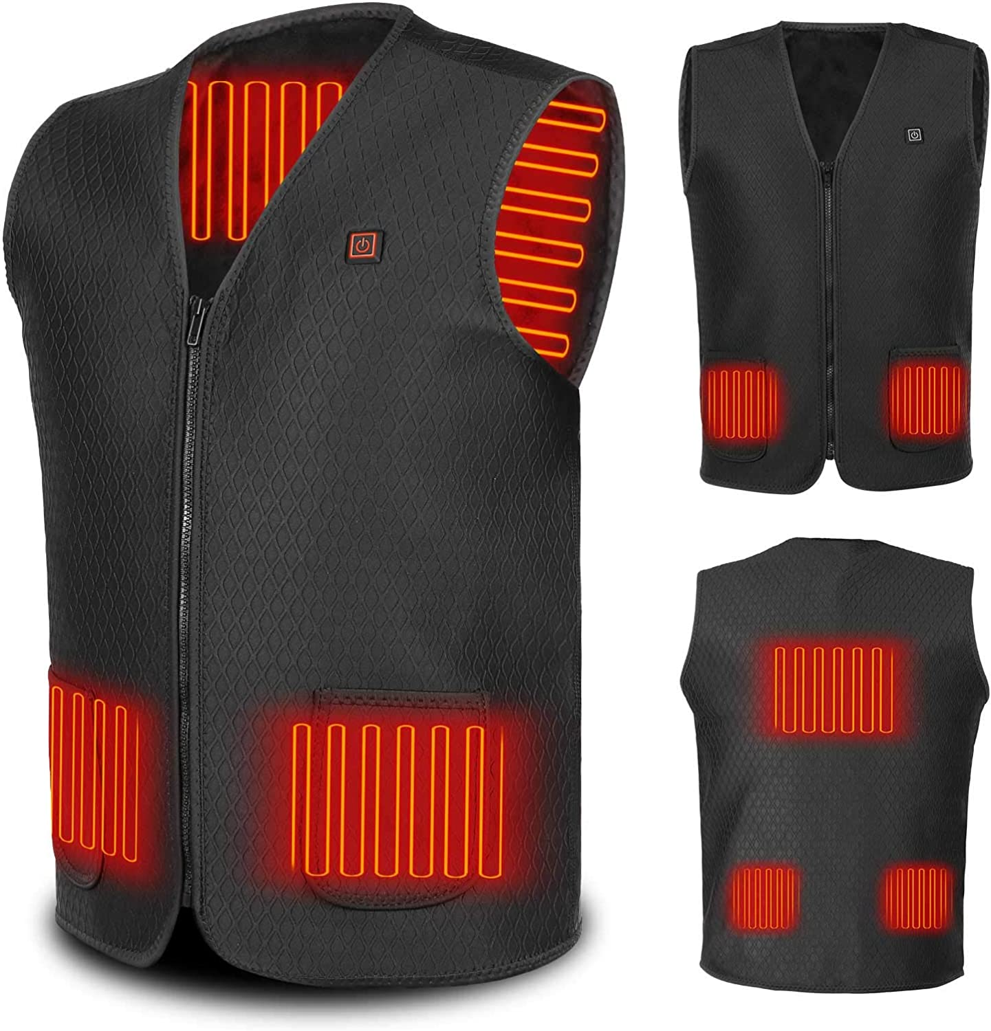 Heated Vest for Men and Women Max 41% OFF Washable Jacket Ou USB Powered Spring new work one after another