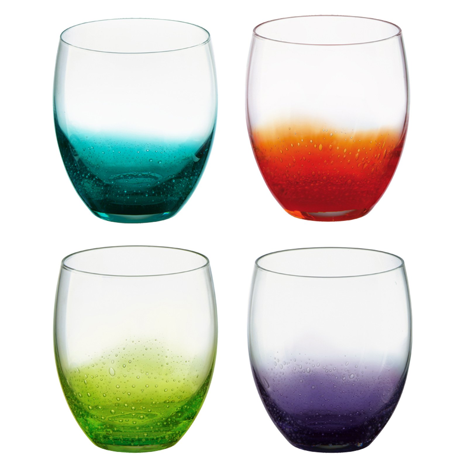 Anton Studio Designs Set of 4 Fizz Wine Glasses