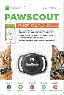 Pawscout Smarter Pet Tag: Cat Version Community Pet Tracker (Bluetooth, not GPS), Medical Profiles, Virtual Pet Leash, Pet Points of Interest