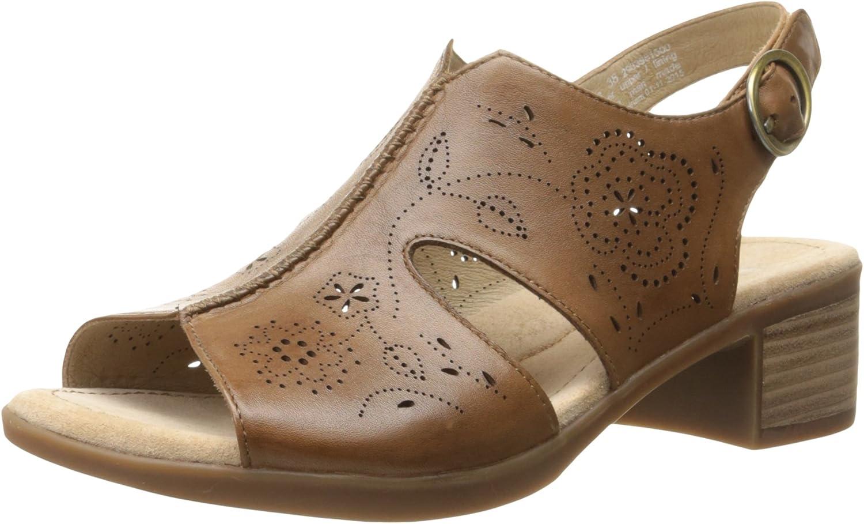 Dansko Women's Lisa Camel Veg Platform Sandal