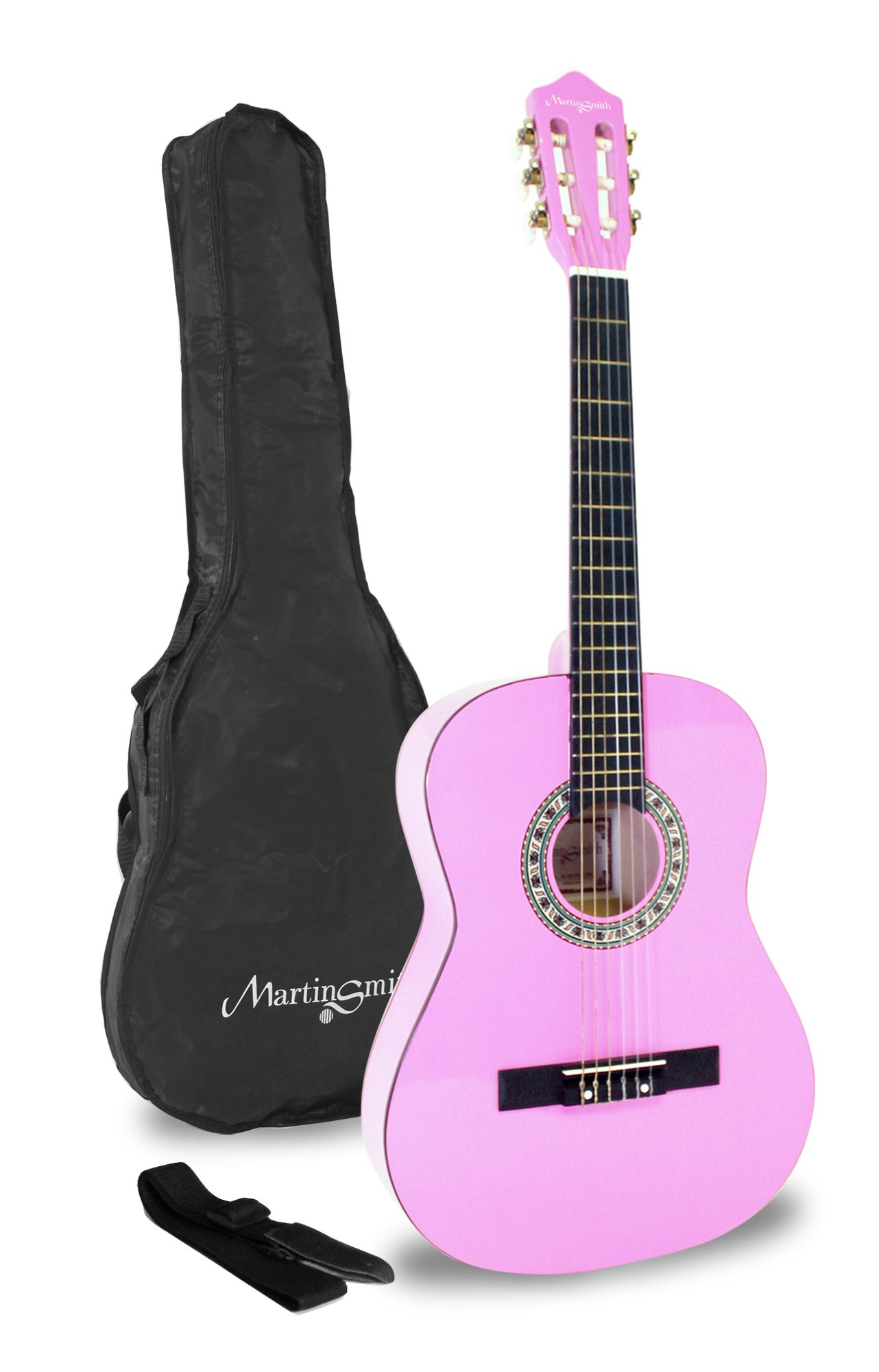 Martin Smith de 36 pulgadas de tamaño 3/4 Clásica guitarra ...