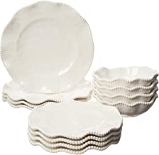 Certified International 89537 Perlette Cream Dinnerware, Dishes, Multicolor