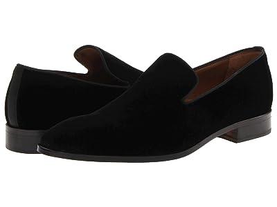 Massimo Matteo Velvet Slip-On (Black) Men
