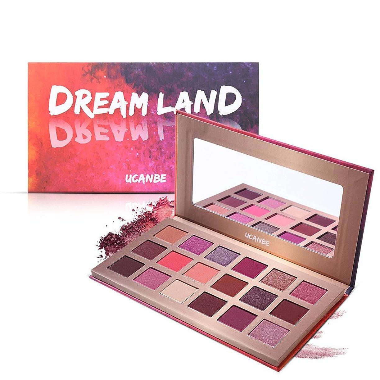 ありふれた欠かせない聖人Akane アイシャドウパレット UCANBE Dream Land ドリームランド 魅力的 幻夢 チャーム 人気 長持ち 綺麗 マット つや消し ファッション おしゃれ 持ち便利 Eye Shadow (18色) STUB022