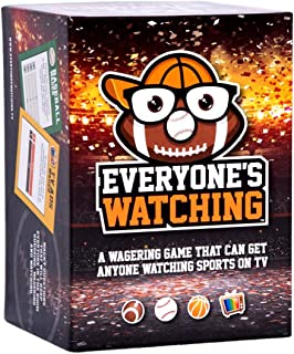 Everyone's Watching - A Sports Board Game That Makes TV Sports Better
