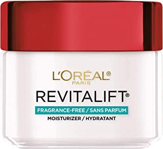 Face Moisturizer by L'Oreal Paris, Revitalift Anti-Aging Face and Neck Moisturizer Fragrance and Paraben Free with Pro-Ret...