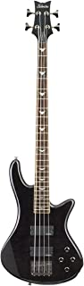 Schecter Stiletto Extreme-4 Bass Guitar (4 String, See-Thru Black)