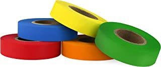 ChromaLabel Color-Code Labeling Tape Variety Pack | 5 Assorted Colors | 500 inch Rolls (1/2 inch)