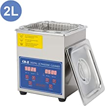 CO-Z 2L Professional Ultrasonic Cleaner with Digital Timer&Heater for Jewelry Glasses..