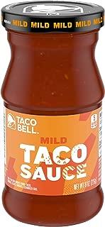 Taco Bell Mild Taco Sauce, 8 oz Bottle (Pack of 12)