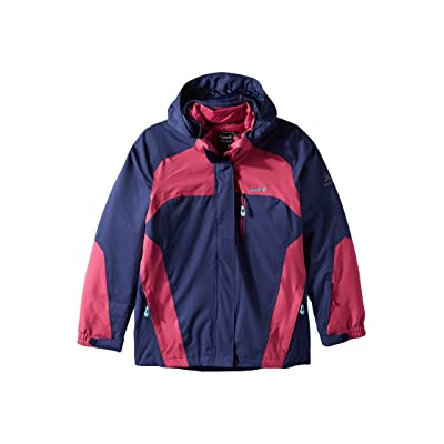 Kamik Kids Shine Down 3-in-1 Jacket (Big Kids) (Navy/Pink) Girl