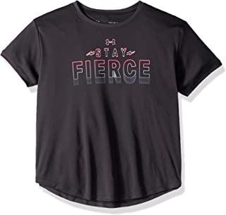 Under Armour Unisex-Child Stay Fierce SS TEES AND T-SHIRTS