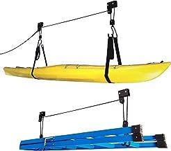 RAD Sportz 1004 Kayak Hoist Lift Garage Storage Canoe Hoists 125 lb Capacity - Two 2 Pack