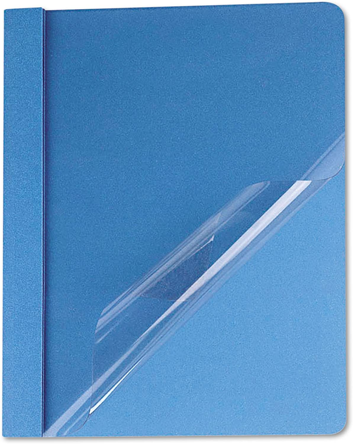 Universal 57121 Clear Front Report Cover, Tang Fasteners, Letter Größe, Light Blau, 25 Box B00FE9WE6K | Haltbar
