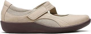 حذاء سهل الارتداء بدون رباط من كلاركس للنساء، المقاس, (بني), 5 UK