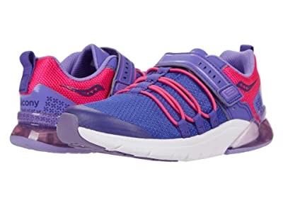 Saucony Kids S-Flash Glow 2.0 (Little Kid) Girls Shoes