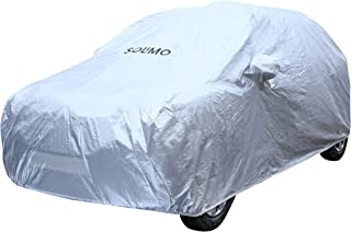 Amazon Brand - Solimo Hyundai i10 Water Resistant Car Cover (Silver)