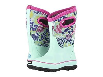 Bogs Kids Classic NW Garden (Toddler/Little Kid/Big Kid) (Aqua Multi) Girls Shoes