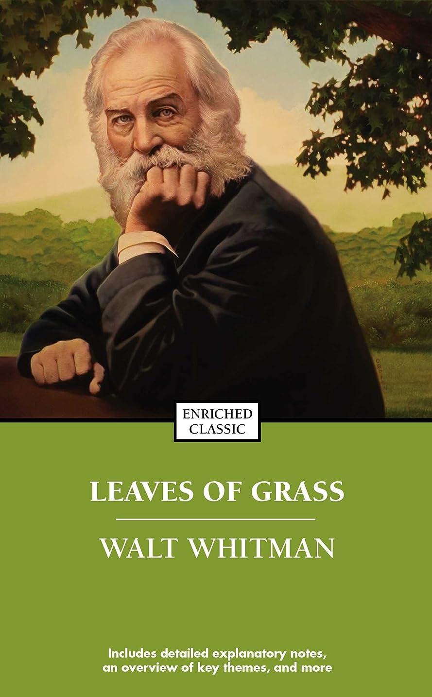 起きるいちゃつく年金受給者Leaves of Grass (Enriched Classics) (English Edition)