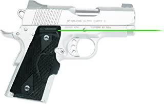Crimson Trace Front Activation Green Lasergrips 1911 Compact - LG-404G