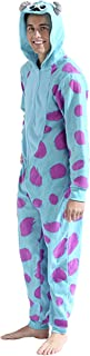 Men's Sulley Cos Play One Piece Pajama Union Suit