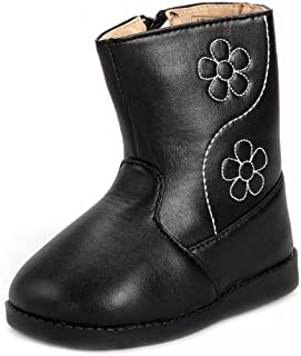 Sneak A' Roos Little Girl's Squeaky Toddler Boot