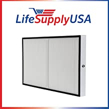 LifeSupplyUSA 2 Pack Replacement True HEPA Compatible with Kenmore 83195 F-K3 Filter fits 83254 83396 85254 Air Purifiers
