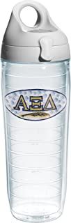 Tervis Alpha Xi Delta Sorority Water Bottle with Lid, 24 oz, Clear -