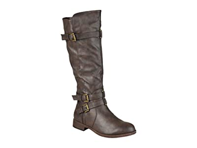 Journee Collection Bite Boot Wide Calf