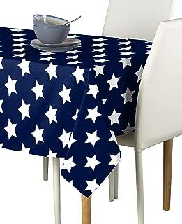 Freedom Stars Navy Milliken Signature Tablecloths - Assorted Sizes (60