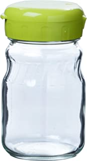 東洋佐々木ガラス 漬け上手 2wayポット オリーブグリーン 約485ml 日本製 I-77826-OG-JAN-F