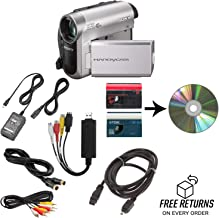 Sony Camcorder for miniDV Tape Transfer to Computer USB and DVD