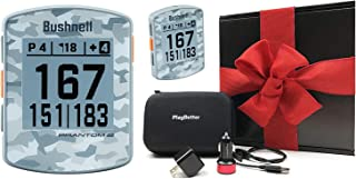 $159 » Bushnell Phantom 2 (Gray Camo) Handheld Golf GPS Gift Box Bundle | Includes PlayBetter USB Car/Wall Adapters & Protective ...
