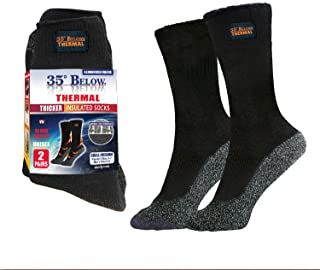 35 Below Thermal 2 pairs – Thicker Insulated Socks, As Seen On TV