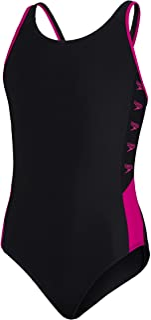 Speedo Boom Logo Splice Muscleback Costume da Bagno da Bambina