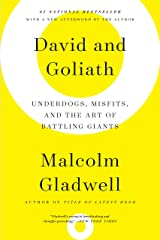 David and Goliath: Underdogs, Misfits, and the Art of Battling Giants (English Edition) eBook Kindle
