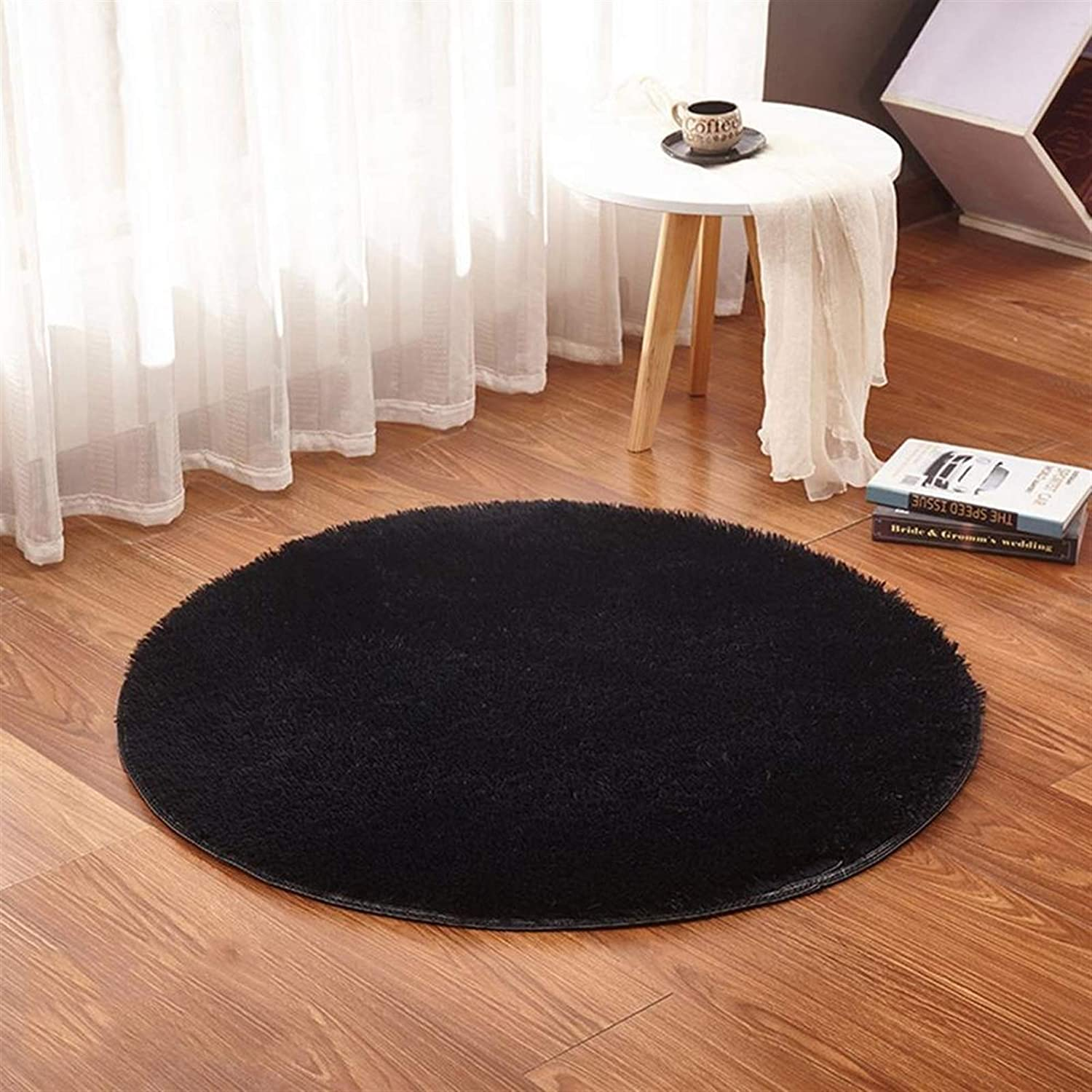 General-purpose carpets Limited time for free shipping in Popular standard various RULDGEE Round Fluffy styles