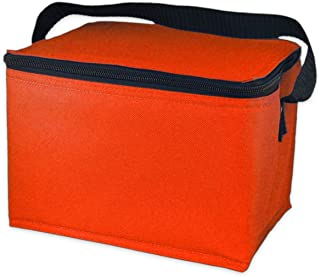 EasyLunchboxes Insulated Lunch Box Cooler Bag, Orange
