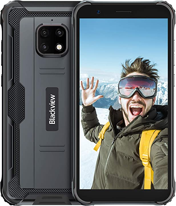 Blackview bv4900 pro rugged smartphone (2020) cellulare militare