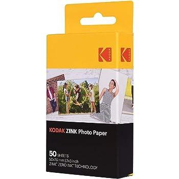 Kodak Zink - Papel foto, 50 hojas: Amazon.es: Electrónica